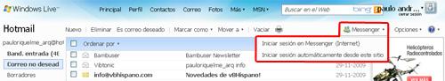 messenger hotmail