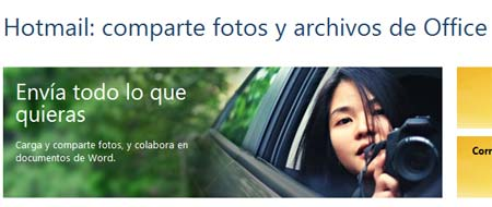 hotmail compartir archivos office