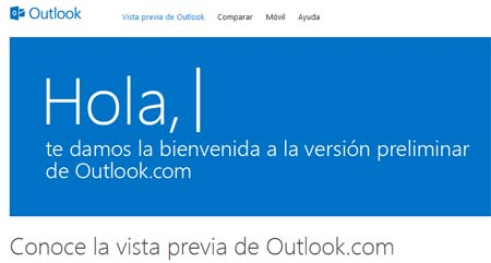 outlook correo electronico