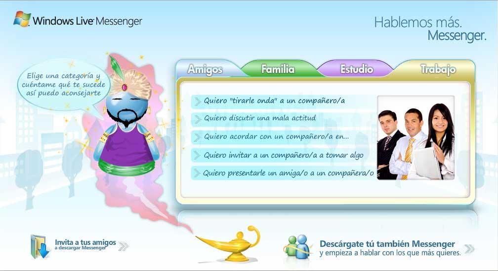 genio de messenger