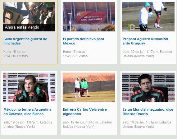 yahoo deportes videos
