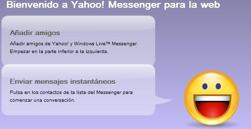 yahoo messenger web